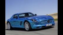 Mercedes SLS AMG Coupé Electric Drive: o superesportivo elétrico mais potente do mundo