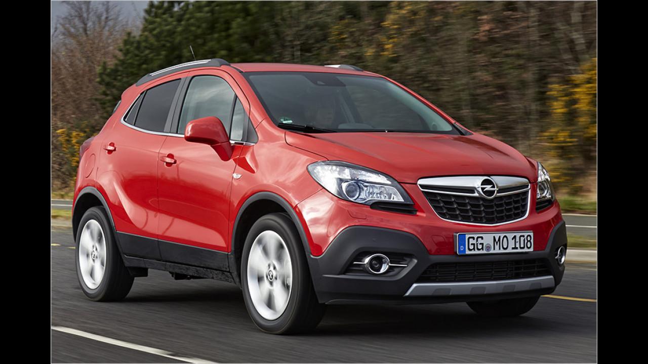 Platz 10: Opel Mokka 1.6 Selection, 115 PS, 18.990 Euro