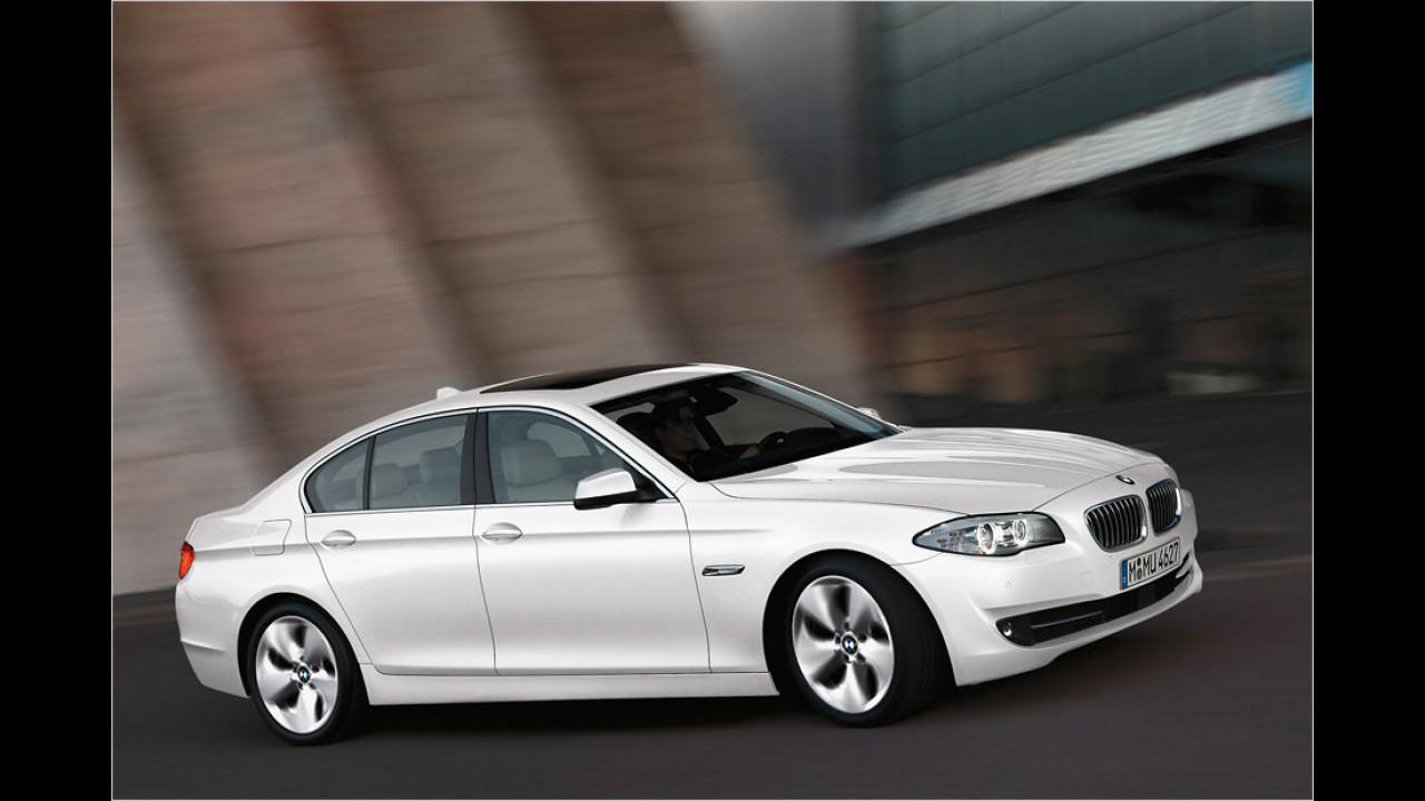 BMW 520d: + 36,3 Prozent