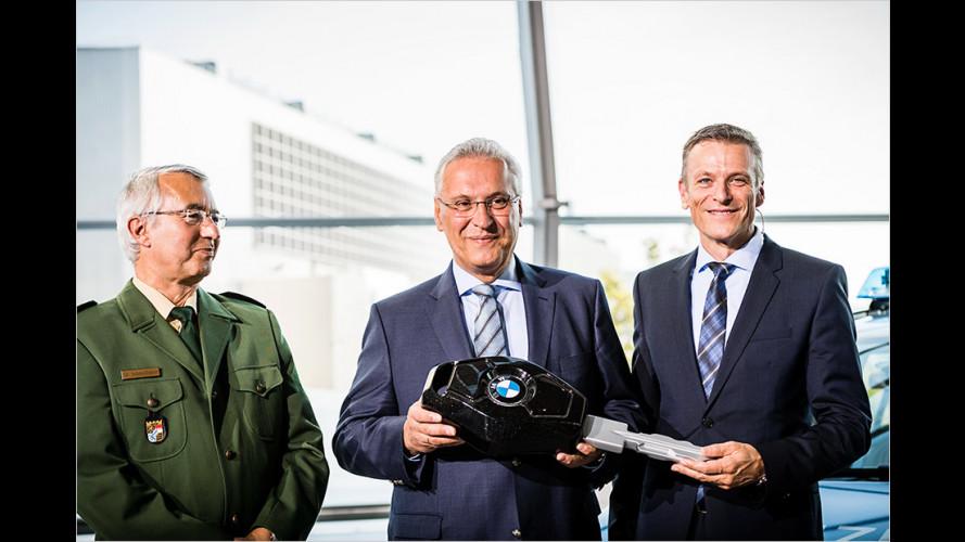 Neuer Blaulicht-Look für Bayern