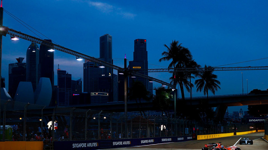 GP de F1 Singapur 2017