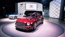 2018 Bentley Continental GT Live Debut