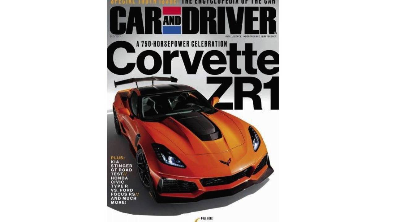 Corvette ZR1 sızan fotoğraflar