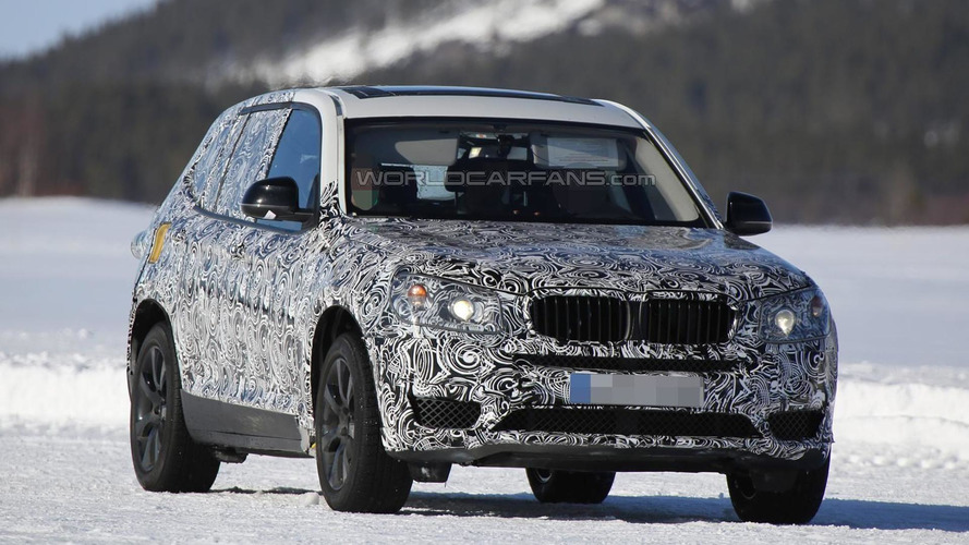 Next generation BMW X3 caught on camera for the first time
