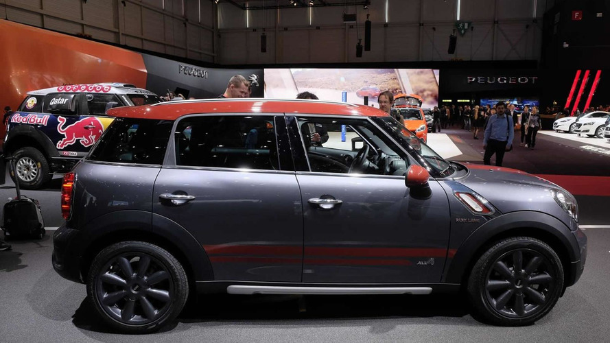 MINI Countryman Park Lane arrives in Geneva with cosmetic tweaks