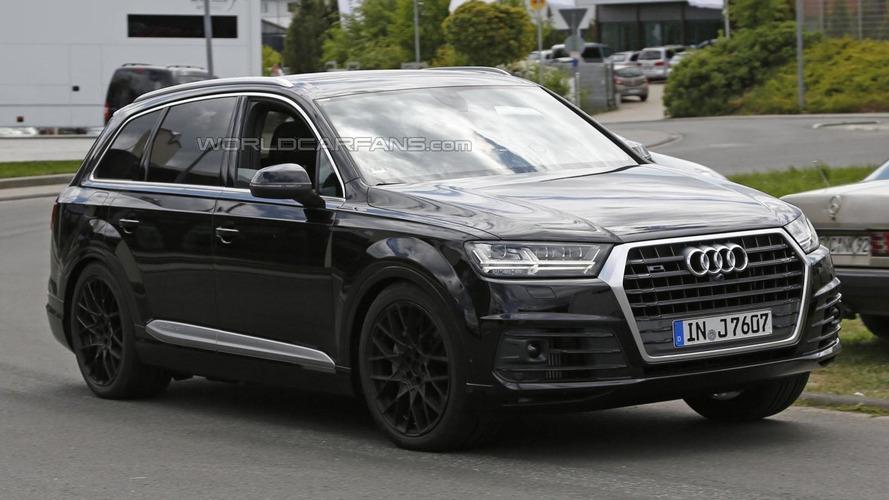 Audi SQ7 spied in Germany