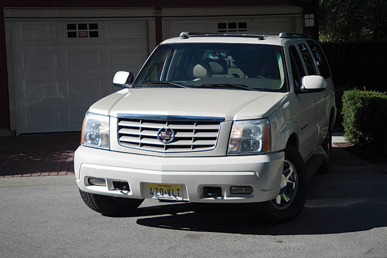 Oh Yes, You Can Buy Tony Soprano's Cadillac Escalade