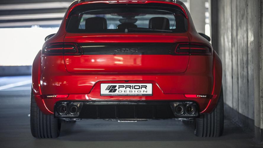 Porsche Macan gains Prior Design wide body kit