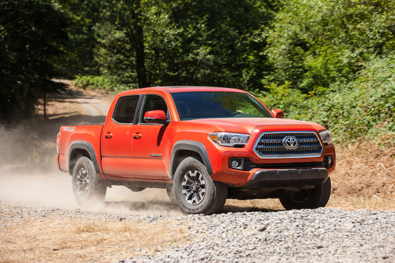 2016 Toyota Tacoma First Drive
