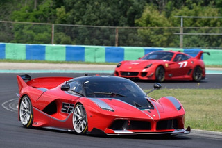 The Exclusive Drive Program Behind the Ferrari FXX K