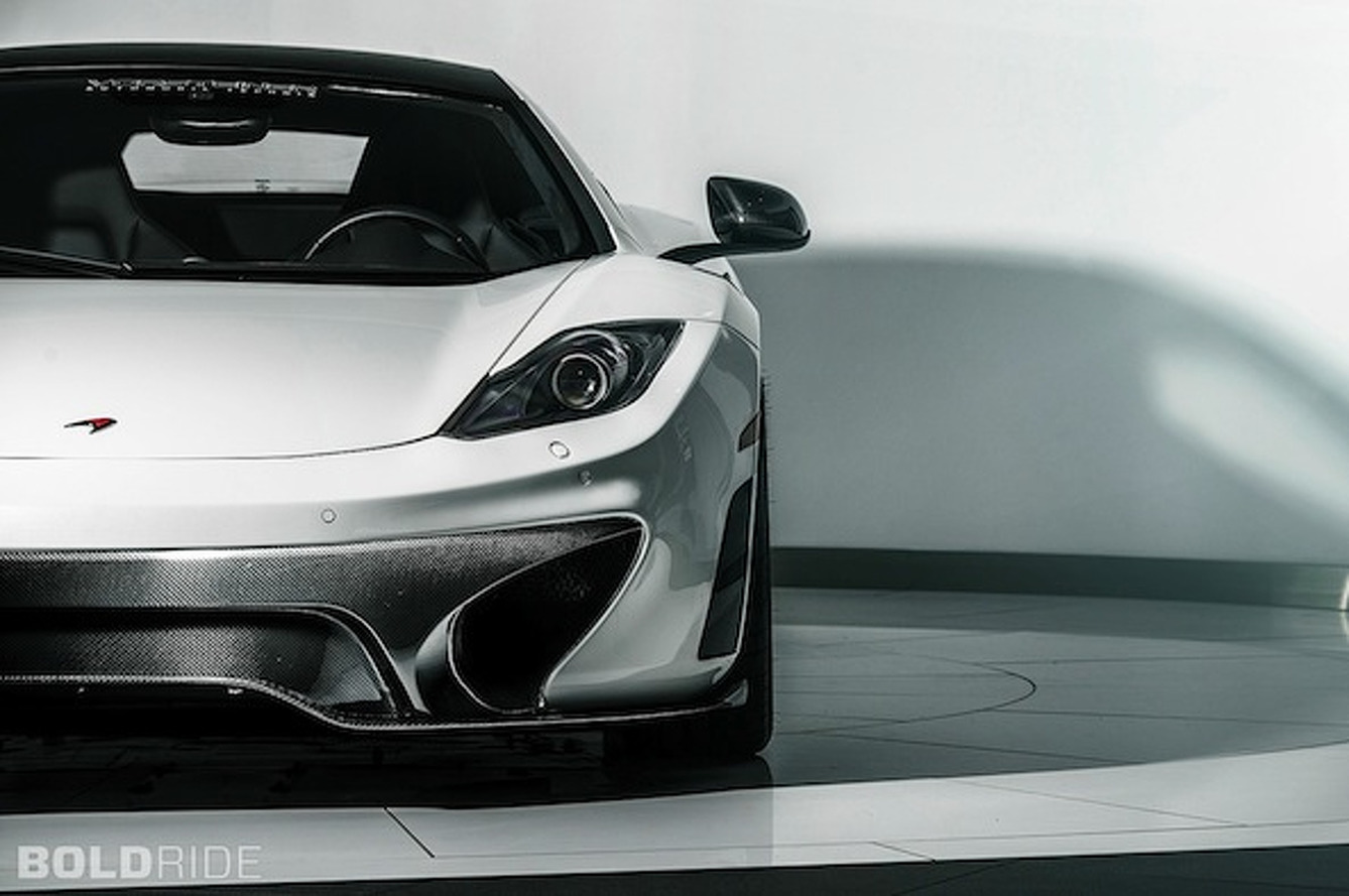 McLaren MP4-12C Gets a Carbon Fiber Facelift Courtesy of Vorsteiner