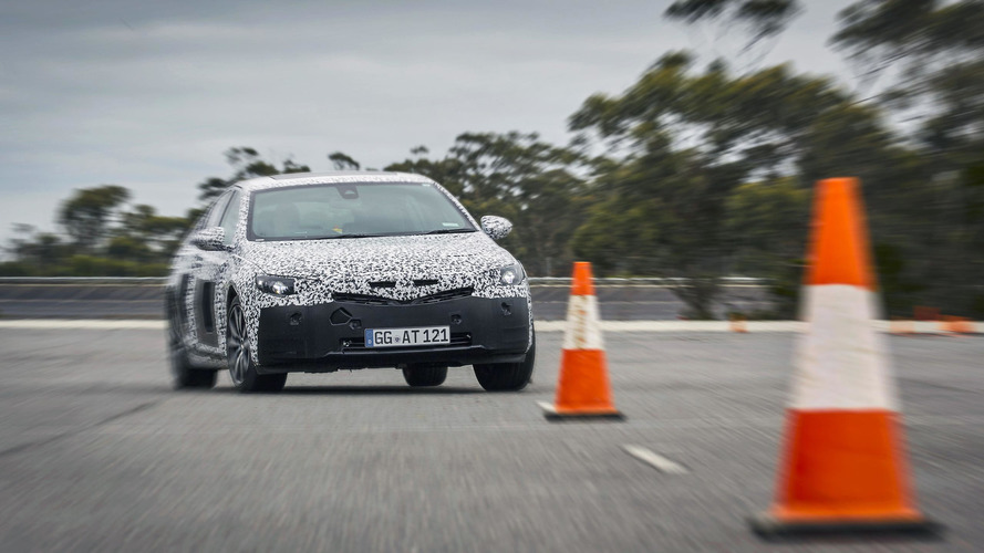 Opel Insignia Grand Sport at Nurburgring