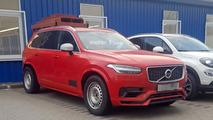 Volvo XC90 casus fotoğrafları