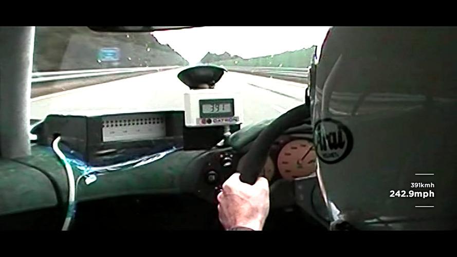 McLaren, F1 modelinin daha önce yayınlanmamış rekor videosunu paylaştı
