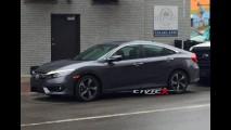 Flagra: Novo Honda Civic 2016 aparece totalmente