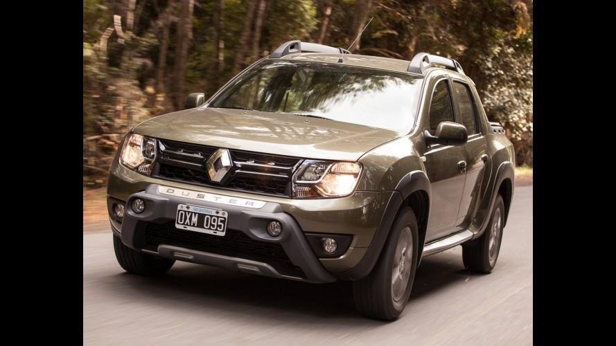 Renault anuncia câmbio automático para a Duster Oroch na Argentina