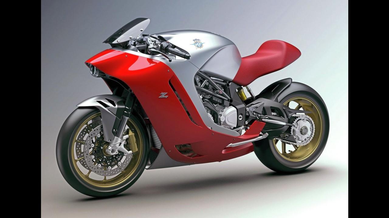 MV Agusta F4Z é revelada por completo; design tem a assinatura do estúdio Zagato