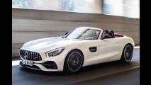 Mercedes-AMG GT Roadster aparece em primeiras fotos antes do Salão de Paris