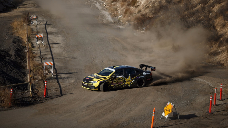 Watch Tanner Foust go drift crazy
