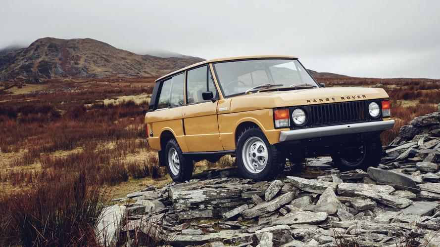 VIDÉO - Un Range Rover de 1978 comme neuf à Rétromobile