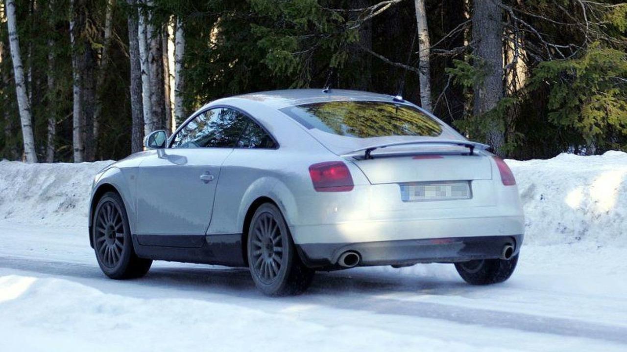 New Audi TT Spy Photos