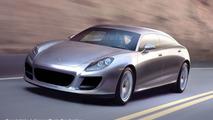 Porsche Panamera artist rendering