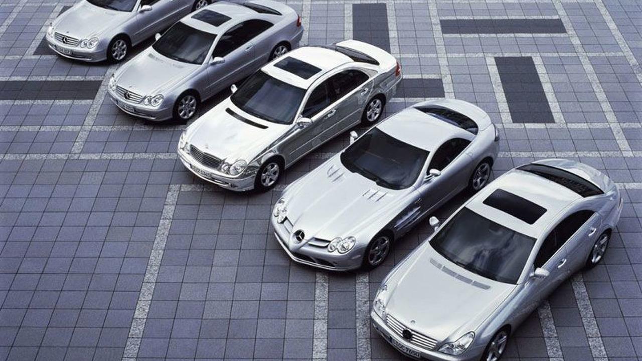Mercedes-Benz vehicles