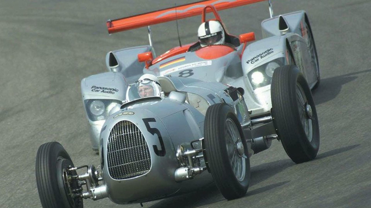 AUTO UNION Silver Arrow to Le Mans race car R8