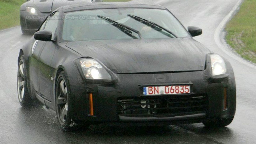More Nissan 350Z Spied