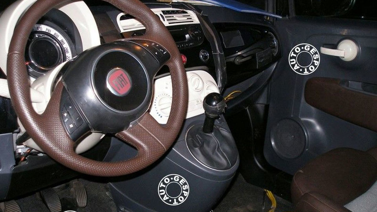 Spy photos: Fiat 500