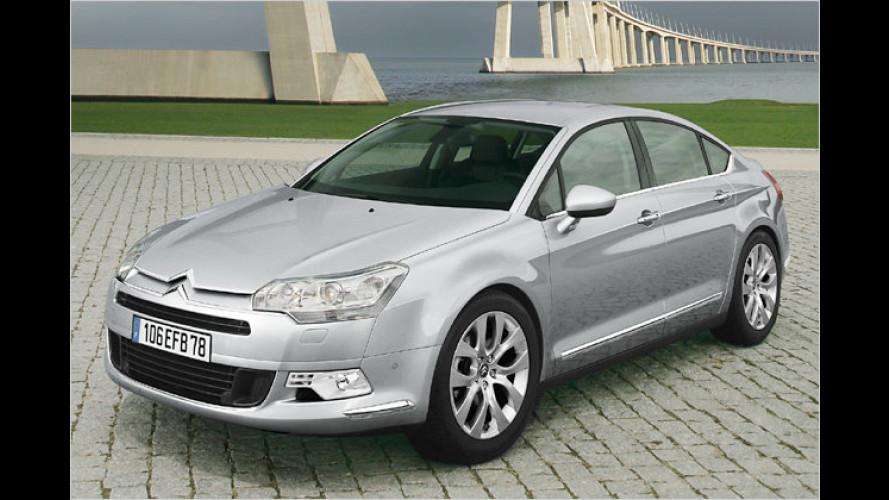 Jetzt Euro-5-fest: Neuer V6-Diesel für Citroën C5 und C6