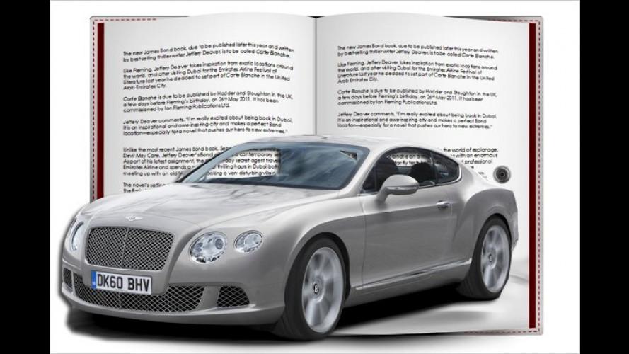 Mit Einschuss-Loch: Bentleys James-Bond-Buch