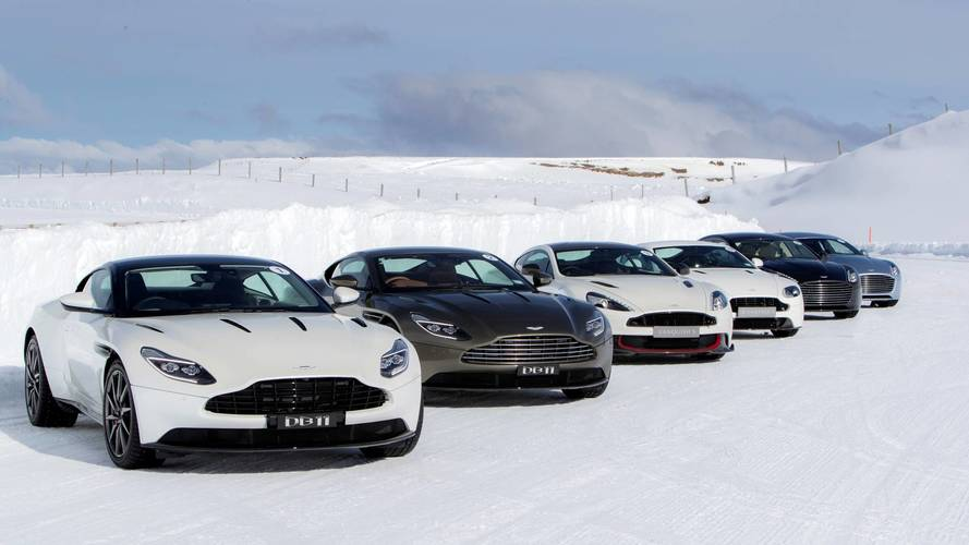 Ice driving trip an Aston Martin fan's perfect Christmas present