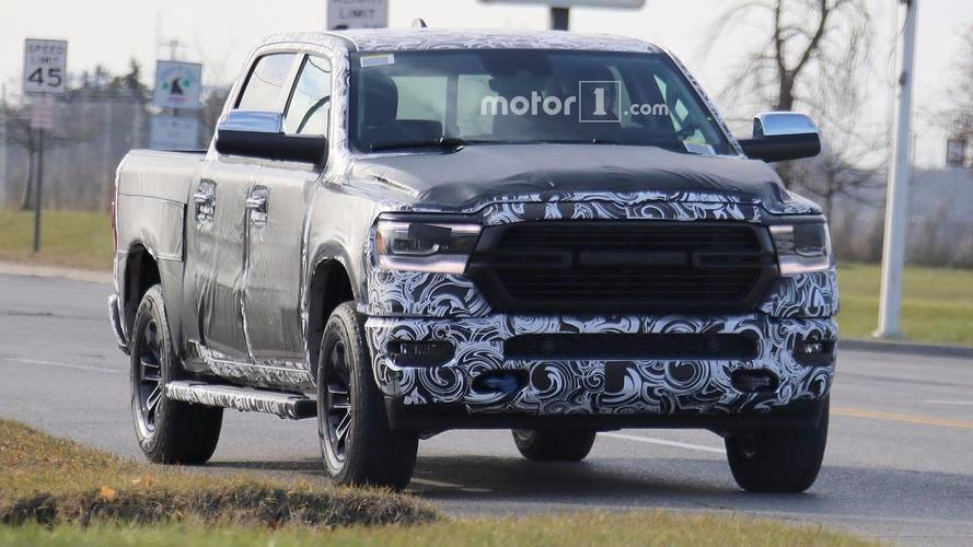 Next-Gen Ram 1500 Light Camouflage Spy Shots