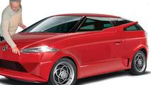 Tata composite car designed by Marcello Gandini