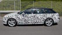 Audi A6 allroad quattro facelift spy photo