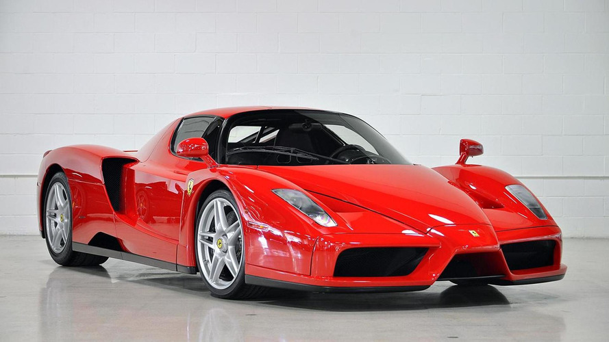 Barely driven Ferrari Enzo in US specification on sale