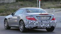 Mercedes-Benz SLC spied for the first time