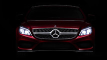 2015 Mercedes CLS teaser images