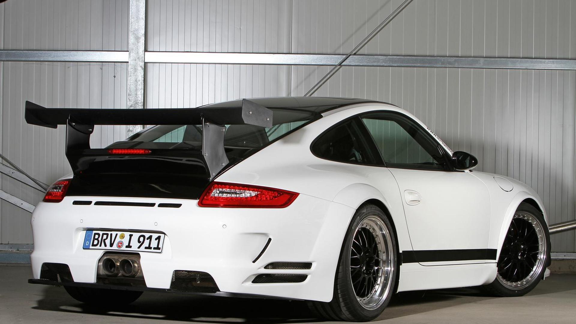Тюнингованная Porsche 911 в кузове 997