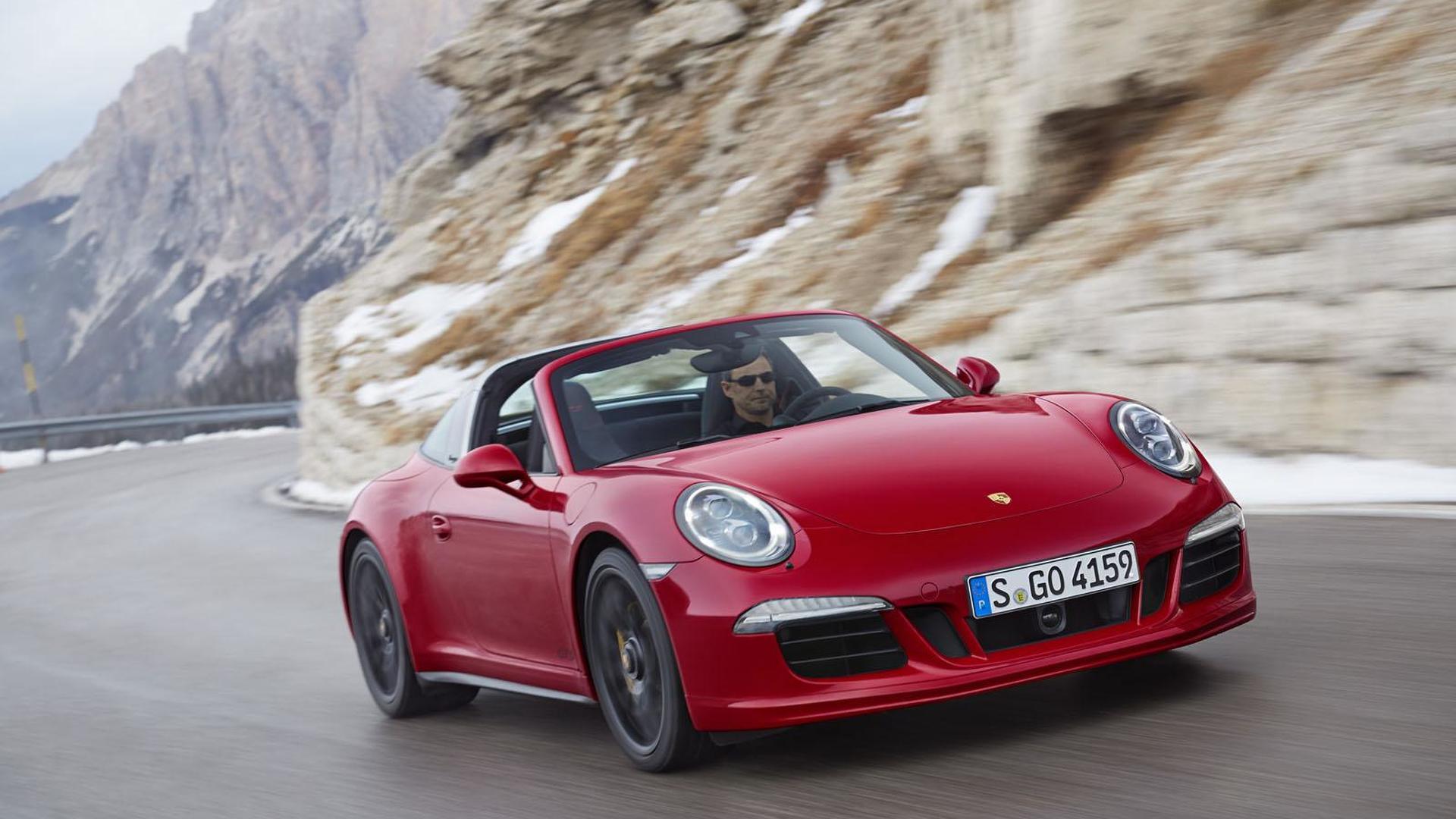 Самый мощный Porsche 911 Targa 4 GTS