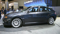 Subaru WRX-STi at Los Angeles Motor Show
