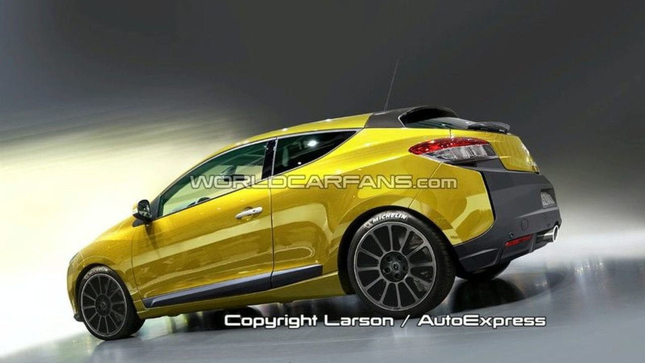 2009 RenaultSport Mégane Rendered