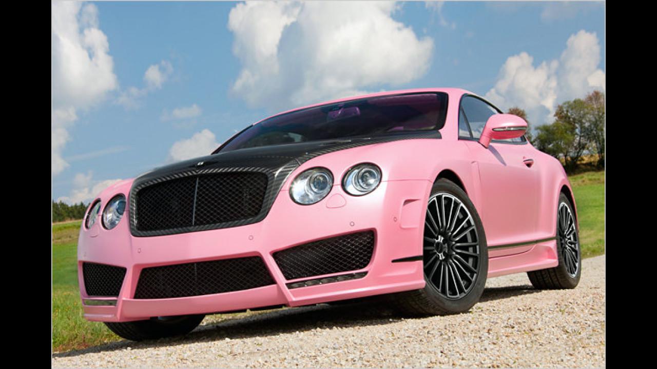 IAA: Pink Bentley