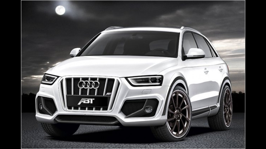 Abt Q3: Sportlichere Version des neuen Audi Kompakt-SUVs