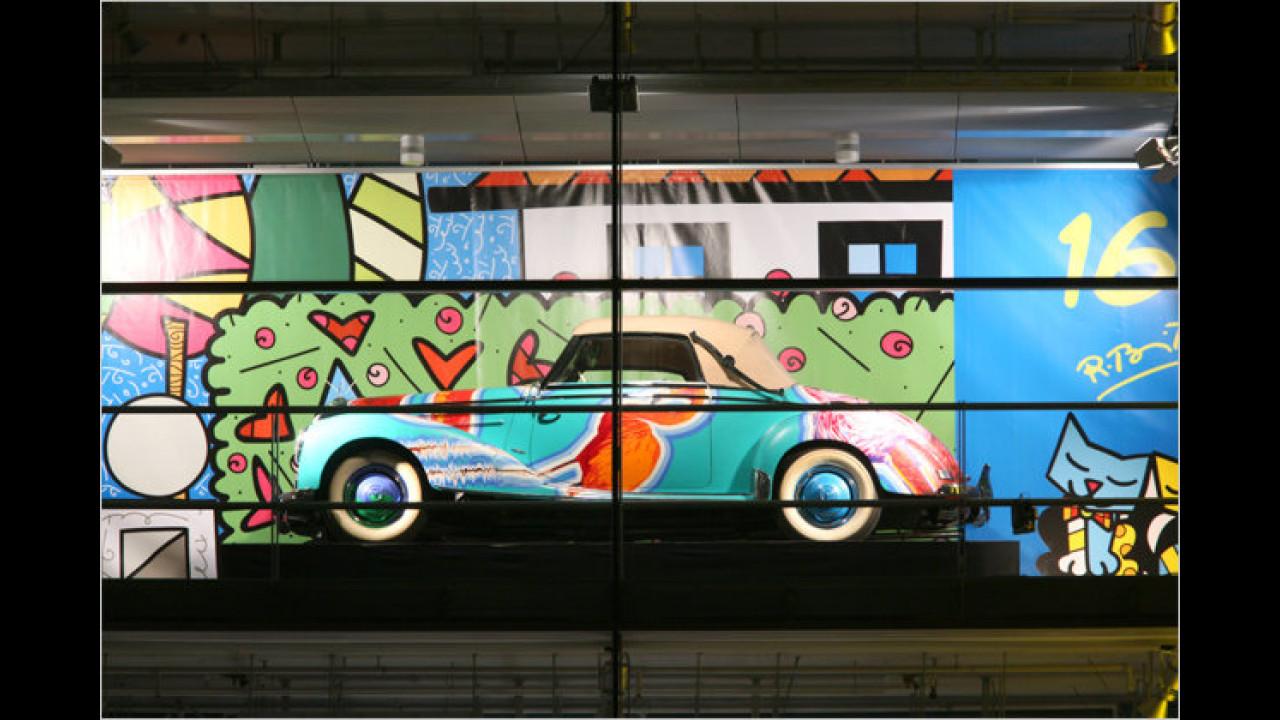 16. Dezember: Mercedes Typ 220a, mit Romero Brittos ,Home, sweet home