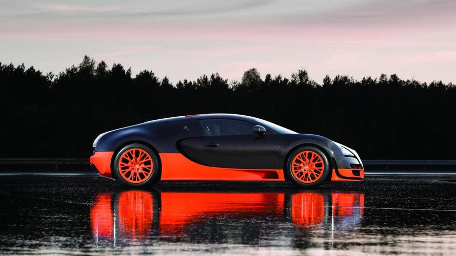 Bugatti Veyron 16.4 Super Sport revealed - sets 268 mph land speed world record