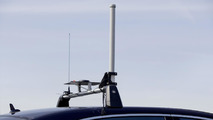 """""""Automated Driving"""" at Mercedes-Benz - A GPS antenna sends the position data to the control Station."""