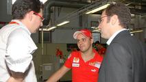 Felipe Massa meets the Ferrari 458 Italia [video]