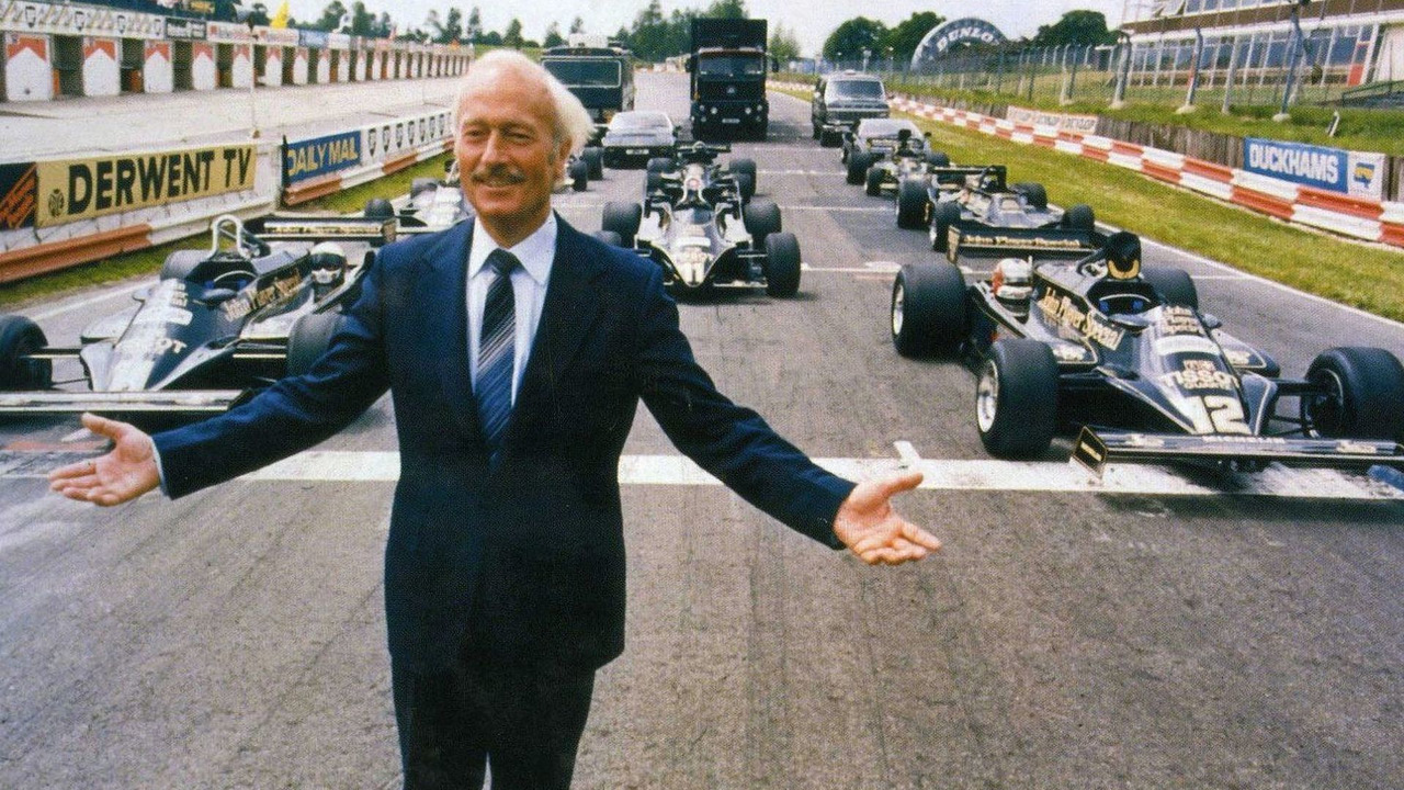 Colin Chapman, founder, Lotus Engineering, classic